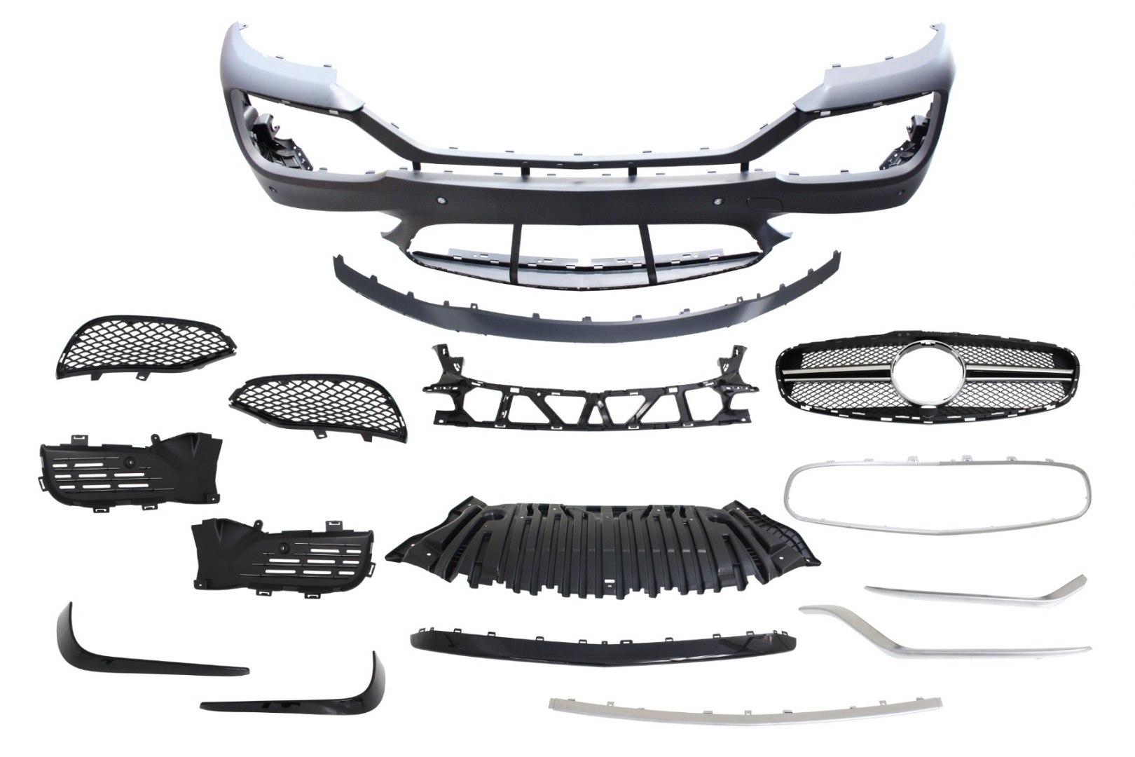 Zderzak przedni Mercedes Benz W212 14-16 E63 Style - GRUBYGARAGE - Sklep Tuningowy
